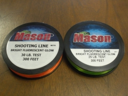 Fluorescent Shooting Line