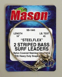 Striped Bass Surf Leaders