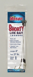 """SHORTY"" Live Bait Leaders"