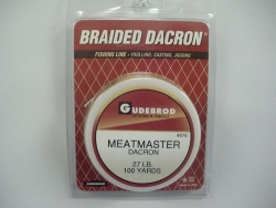 Meatmaster Natural Braided Dacron