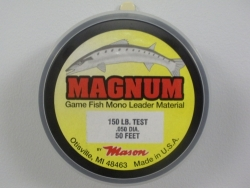 """MAGNUM"" Game Fish Monofilament Leader Material"