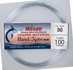 """HARD TYPE NYLON"" Leader Material"